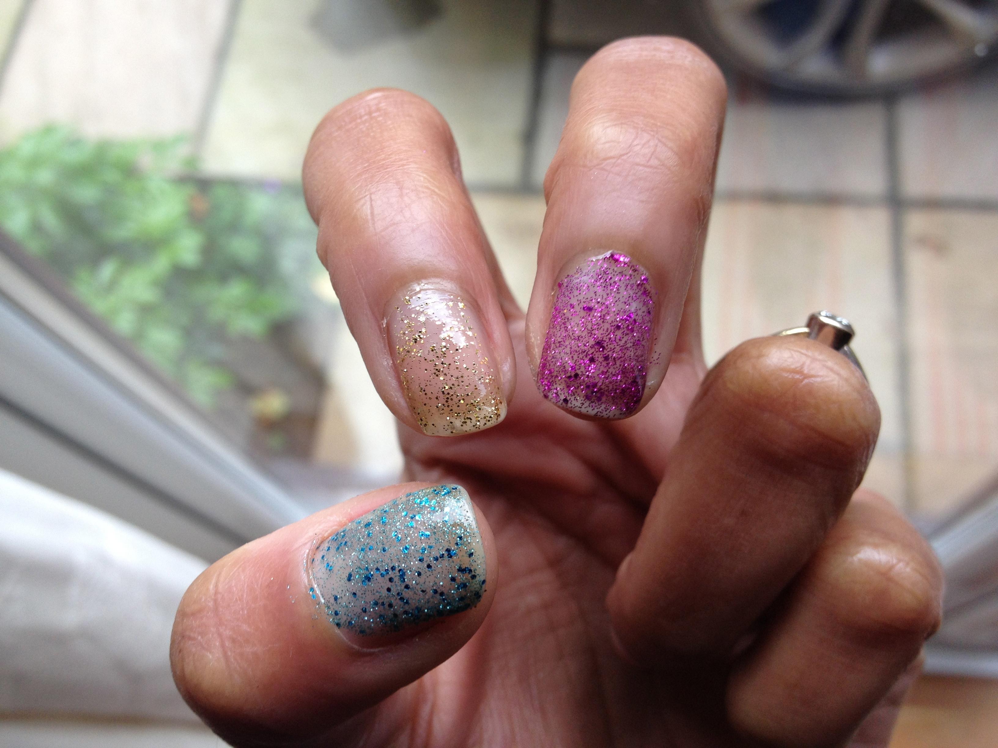 Glitter Nail Polish | Chitra\'s Things