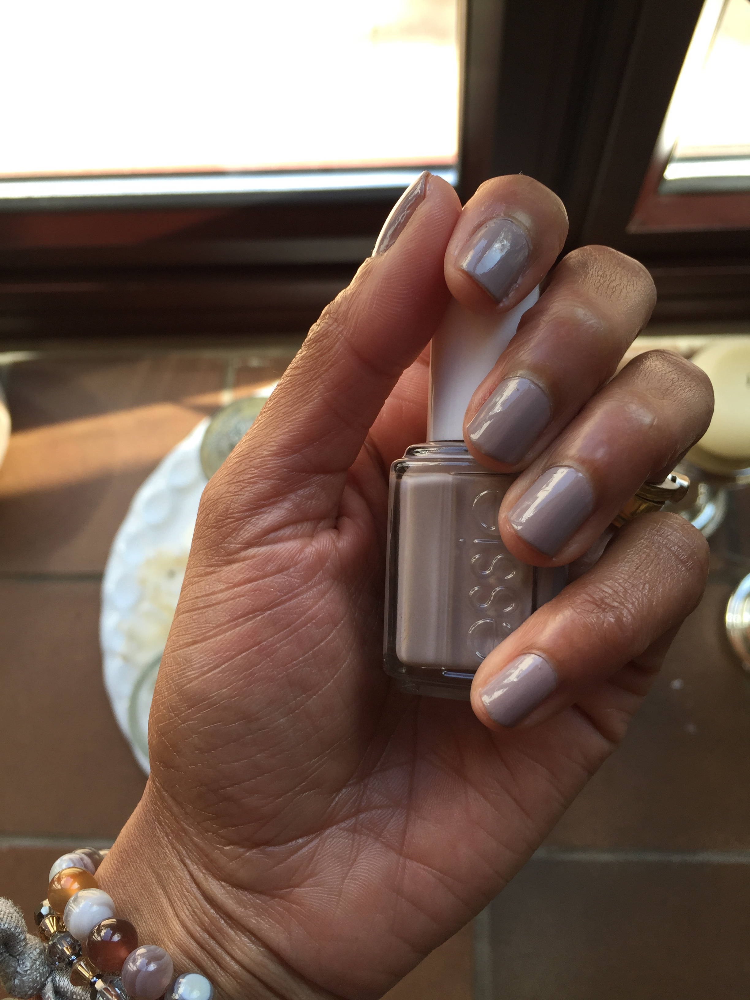 Perfect Nude Nail Polish for dark skin | Chitra\'s Things